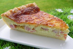 QUICHE JAMBON - CANCOILLOTTE (thermomix)
