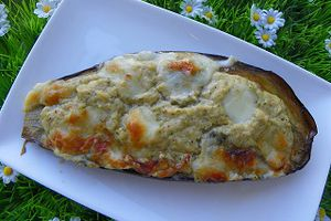 AUBERGINES FARCIES (thermomix)