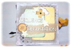 """Mini album """"séquence dégustation"""""""