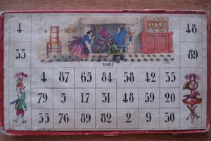 les grands moments de la vie en 1860, un loto DURU