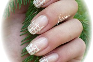 Nail-Art vernis tricot