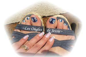 Nail-Art Pieds - Décos d'orteils