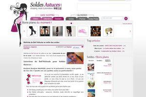 Bellattitude: première interview sur Solde Astuce.