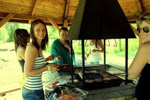 BBQ au bord du lac