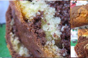 Cake Marbré d'Eglantine