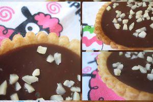 Tartelettes au chocolat au lait d'Eglantine