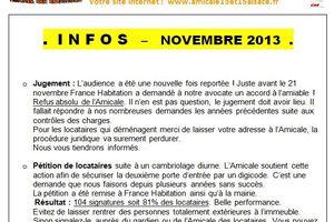 INFO novembre 2013
