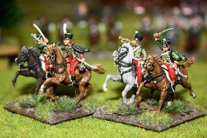 La 1ère division de Cavalerie.