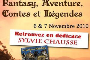 Sylvie Chausse au salon fantasy