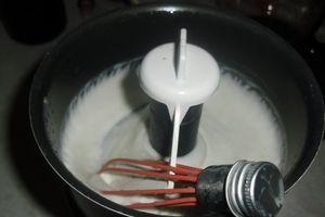 nettoyant visage (simple) au lait d'avoine