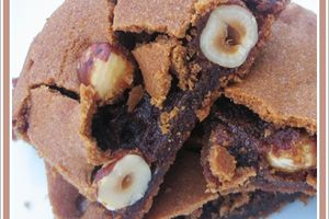 Brownie butterscotch