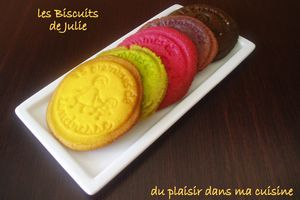les Biscuits de Julie