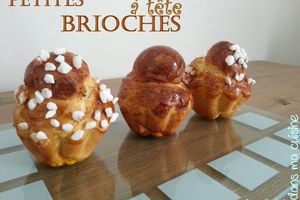 Brioches à Têtes: technique inratable