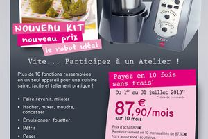 Nouvelle offre Cook'in !!!