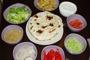 Fajitas et Tortillas à ma façon (poulet)