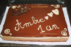 Tout sur le Montage du 3 Chocolats !!