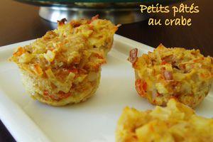 Petits pâtés au crabe