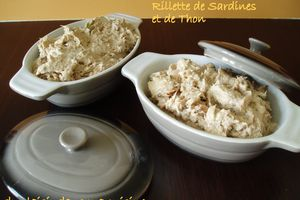 Rillette de Sardines et de Thon: version Cook'in