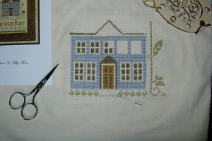 LHN home of a needleworker