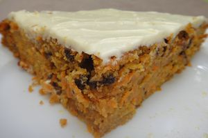 Wonderful Australian Carrot Cake