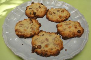 Cookies express aux 3 chocolats