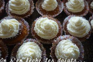 Cupcakes coco-citron;the 3rd cupcake's day