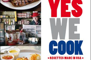 Yes we cook - le livre de la gastronomie made in USA.