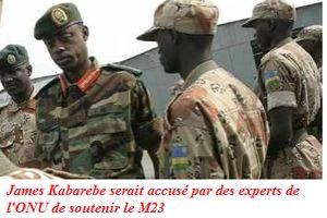 RDC-Rwanda: Le groupe d'experts de l'ONU sur la RDC affirme disposer de preuves du soutien de trois des plus hauts responsables rwandais de la Défense à la mutinerie congolaise du M23!