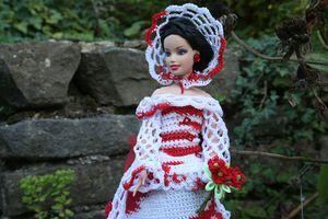 Encore une robe de Barbie.