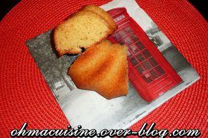 Madeira cake (quatre quart anglais)