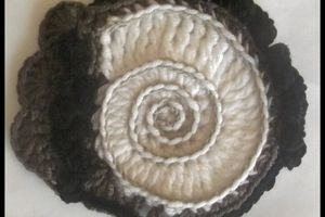 Freebeanie : Ma spirale ammonite