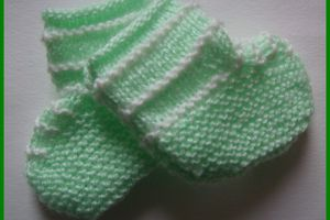 petits chaussons assortis