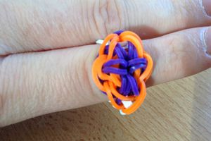 Bague rainbow loom