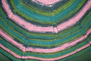 un peu de tricot et..... un peu de patch