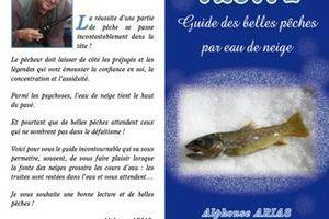 """Couverture"""" guide des belles pêches par eau de neige"""""""