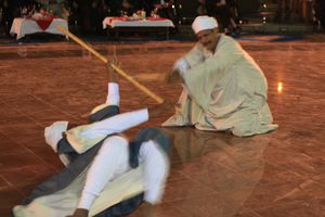 Stage de Tahtib traditionnel 2012