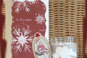 """Carte """"cadeau"""" au petit lutin"""