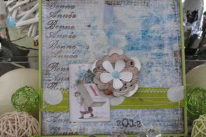 """Voeux """"Doux Shabby"""""""