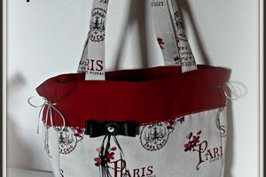 "Sac cabas ""Paris"" & place AEF offerte !"
