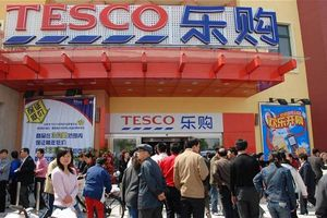 Shanghai : #Tesco Chine se lance dans le #e-commerce de proximité. Livraisons de produits frais inclues.