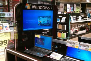 Windows 7 et Auchan contre attaque.