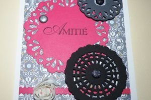 Carte Gris, Rose, noir