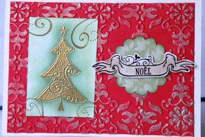 Carte de Noël suite