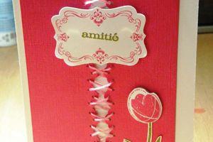 Carte corsetée