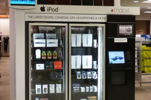 Distributeur automatique d'ipad & co....chez Macy's