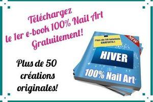 l'e-book hiver 100% nail art est disponible