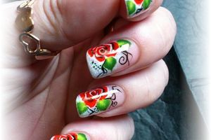 "nail art concours my valentine nails "" nail art actu "" facebook"