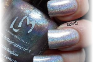 LMcosmetic purpleglow holo