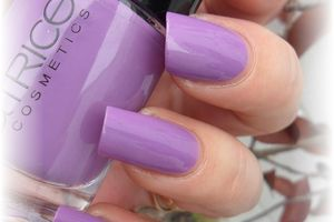 """vernis catrice """" 130 lucky in lilas """""""
