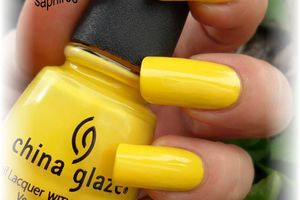"vernis china glaze "" happy go lucky """